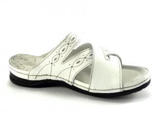 Aurelia bílé pantofle LR52341