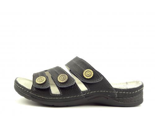 Aurelia černé pantofle LR52399